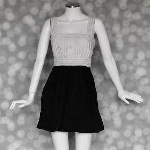 BCBGMaxAzria Tuxedo Bubble Dress